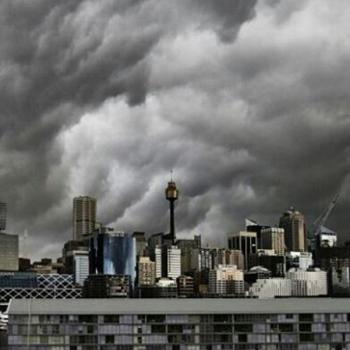 Tornade et violents orages à Sydney en Australie