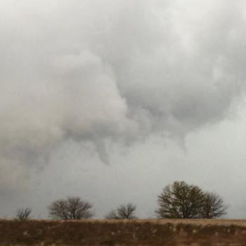 Orage violent aux Etats-Unis - Tornade sur l'Iowa