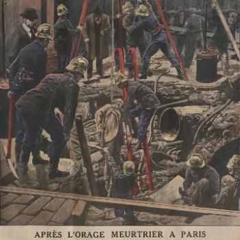 Le terrible orage du 15 juin 1914 à Paris