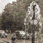 Orage diluvien sur Paris et l'Ile de France les 19 & 20 juillet 1955