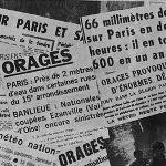 Orage diluvien sur Paris et l'Ile de France les 19 & 20 juillet 1972