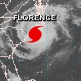 Ouragan Florence sur la côte Est des Etats-Unis