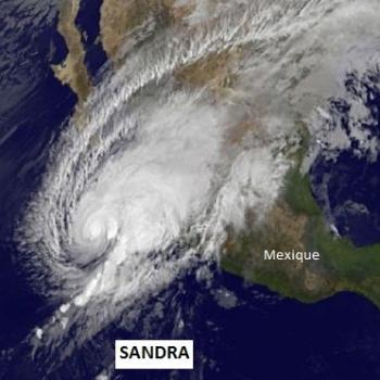 L'ouragan Sandra établit un record sur le Pacifique soumis à El Nino
