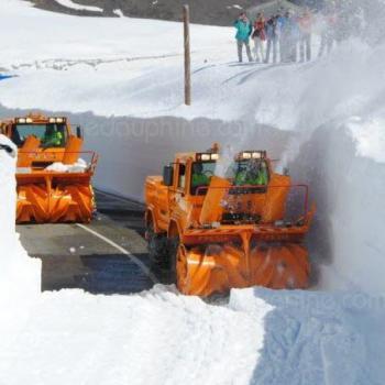 Ouverture des grands cols et neige en haute montagne