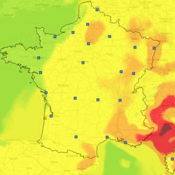 Pollution de l'air à l'ozone au Sud et en Ile de France