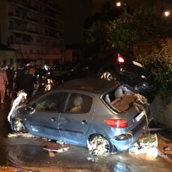 Orages diluviens meurtriers sur les Alpes Maritimes - Tornade à La Ciotat