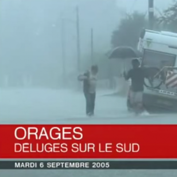 Episode méditerranéen diluvien du 5 au 9 septembre 2005