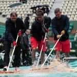 Forte pluie sur Paris, Roland-Garros et l'Ile de France