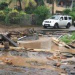 Pluie diluvienne, éboulements et inondations à Tahiti