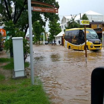 Pluie diluvienne et inondations à La Réunion - Tempête Haliba