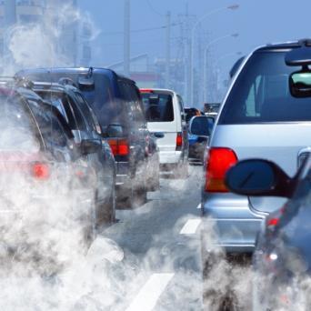 Pollution à l'ozone sous la canicule