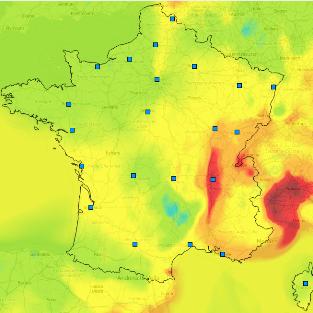 Qualité de l'air : pollution aux particules fines et au dioxyde d'azote