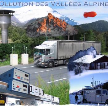 Pollution des vallées alpines - limitation de vitesse en vallée de l'Arve