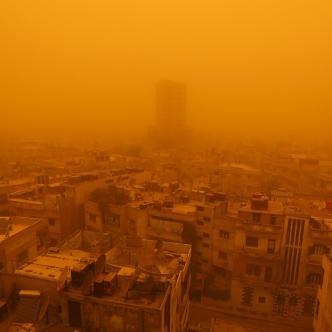 Tempête de sable au Moyen-Orient - La guerre en Syrie facteur aggravant ?