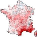 Déficit de pluie record, sécheresse & incendies au Sud-Est