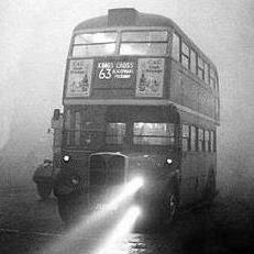 Le grand smog de Londres en décembre 1952