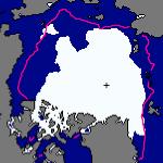 Suivi de l'étendue des glaces de l'Arctique