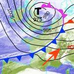 La tempête Doris aspire la douceur à l'Est