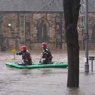 Inondations et tempête Frank sur les Iles Britanniques