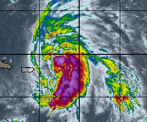 Tempête tropicale Rafael : Alerte rouge en Guadeloupe