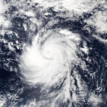 El-Nino favorise les cyclones du Pacifique - Typhon In-Fa en Micronésie