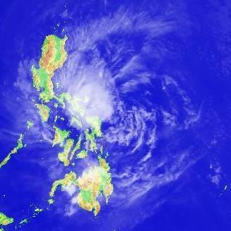 Typhon Maysak aux Philippines - Tempête tropicale Haishen