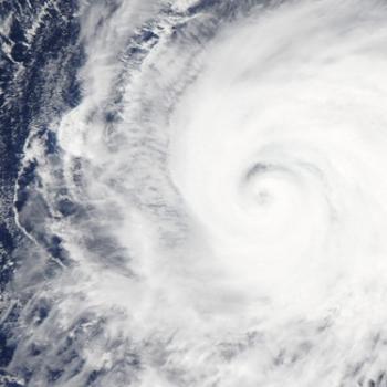 Kilo, l'ouragan devenu typhon