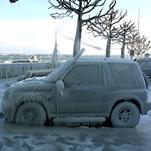 Vague de froid de février 2012 : la plus récente