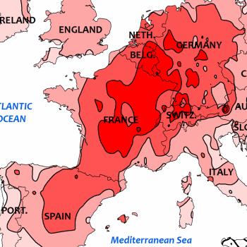 Peu de pluie et canicule sur l'Europe