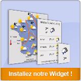 Installez nos widgets météo sur votre site internet