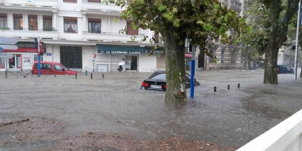 Image d'illustration pour Fortes pluies et inondations dans l'Hérault et le Gard