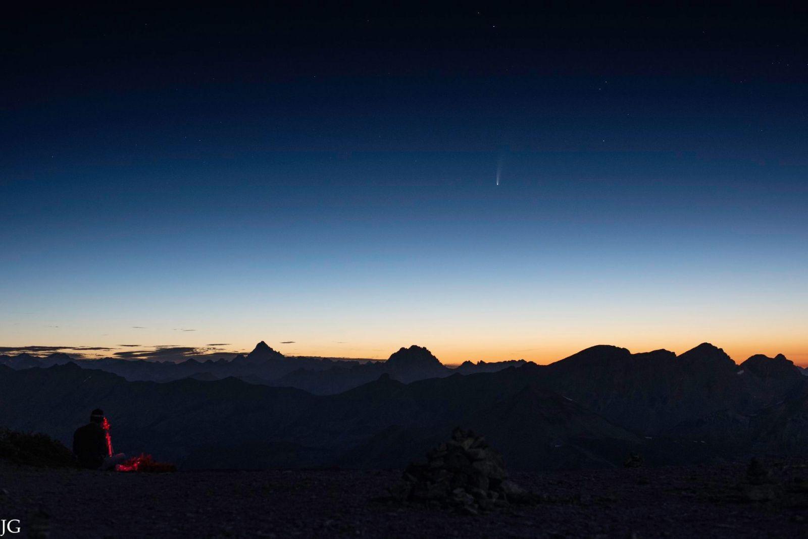 Image d'illustration pour Comète Neowise. Où et comment l'observer?