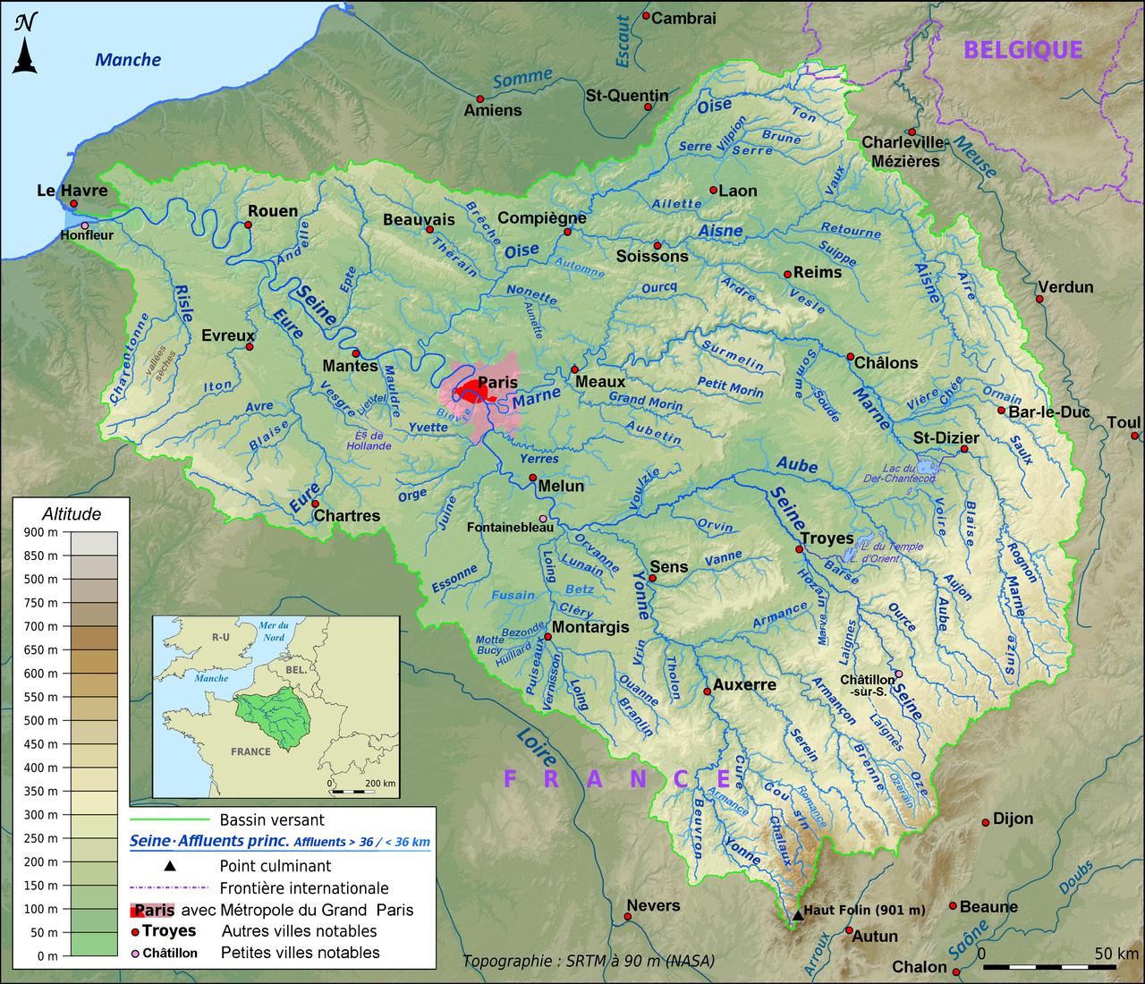 Image d'illustration pour La Seine monte, où en est le risque d'inondations?