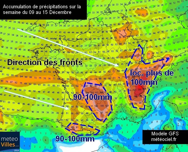 Image d'illustration pour Une semaine à nouveau très agitée sur la France