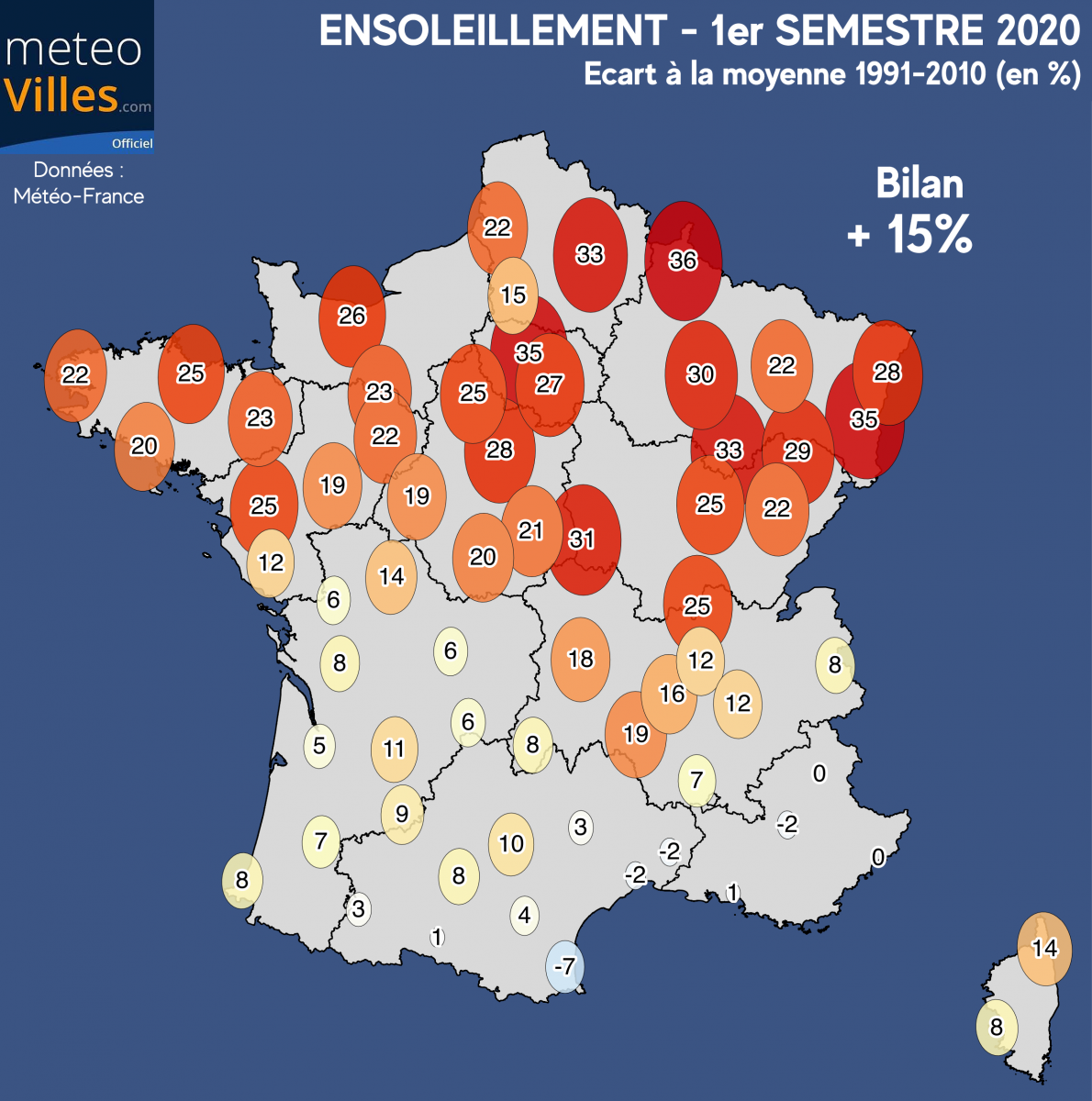 Image d'illustration pour 1er semestre 2020 : le plus chaud jamais mesuré en France !