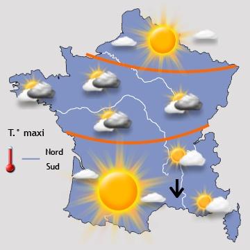 Image d'illustration pour Printemps précoce : une douceur très agréable sur la France