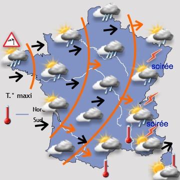 Image d'illustration pour Goutte froide : pluie, orage, vent, neige et congère pour l'Ascension