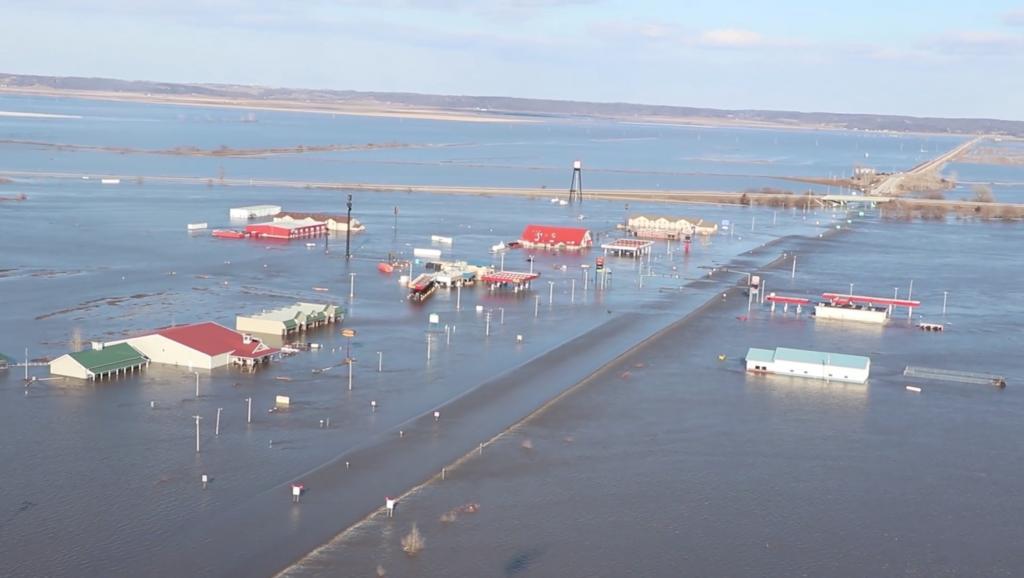 Image d'illustration pour Risque d'inondations printanières majeures aux Etats-Unis