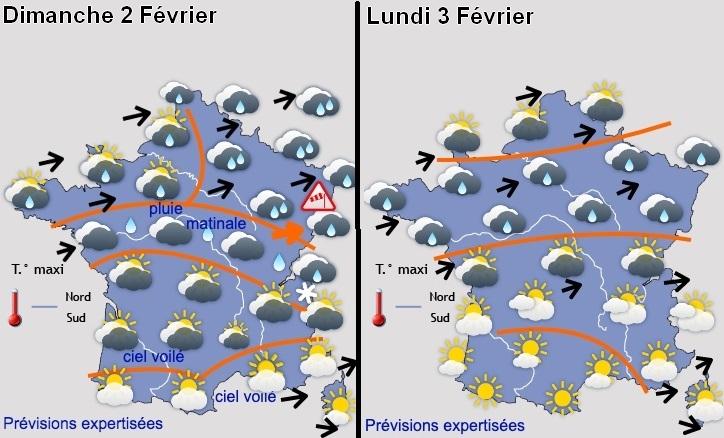 Image d'illustration pour Grande douceur pour début Février sur la France