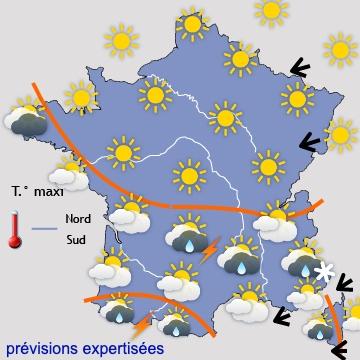 Image d'illustration pour Vers plusieurs jours de soleil... et de froid dans la moitié Nord!