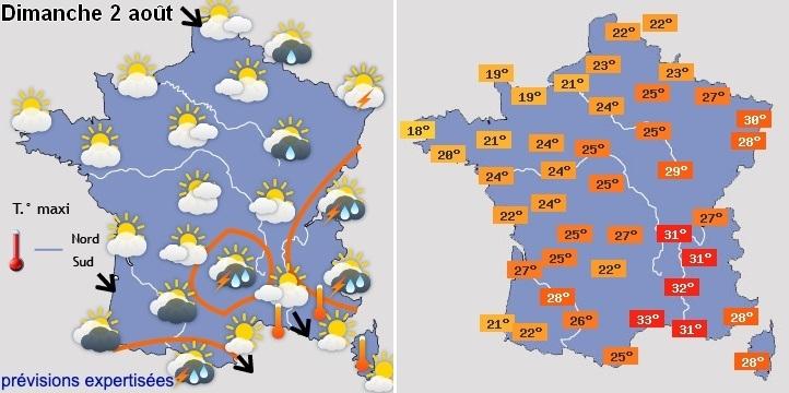 Image d'illustration pour Coups de chaleur marqués la semaine prochaine sur le pays