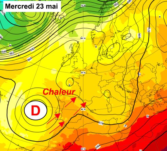 Image d'illustration pour Chaleur estivale et orages en vue pour cette fin mai