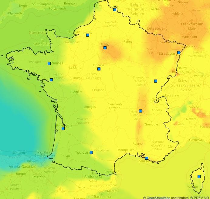 Image d'illustration pour Soleil et chaleur favorisent la pollution à l'ozone