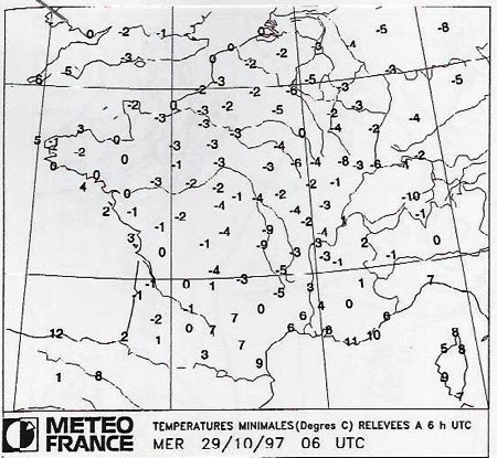 Image d'illustration pour Neige et froid fin octobre en plaine : assez rare mais pas exceptionnel