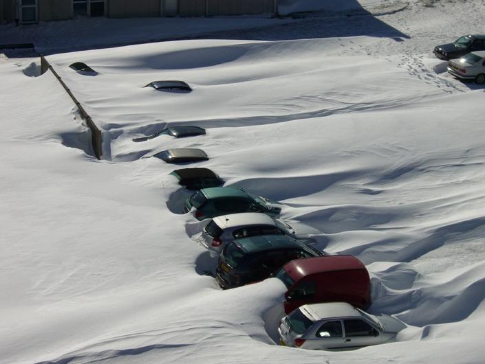 Image d'illustration pour Neige en mars en plaine : pas si exceptionnel