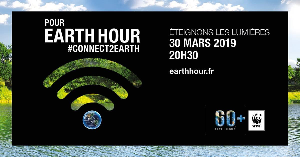 Image d'illustration pour Earth Hour : une heure d'obscurité pour la planète