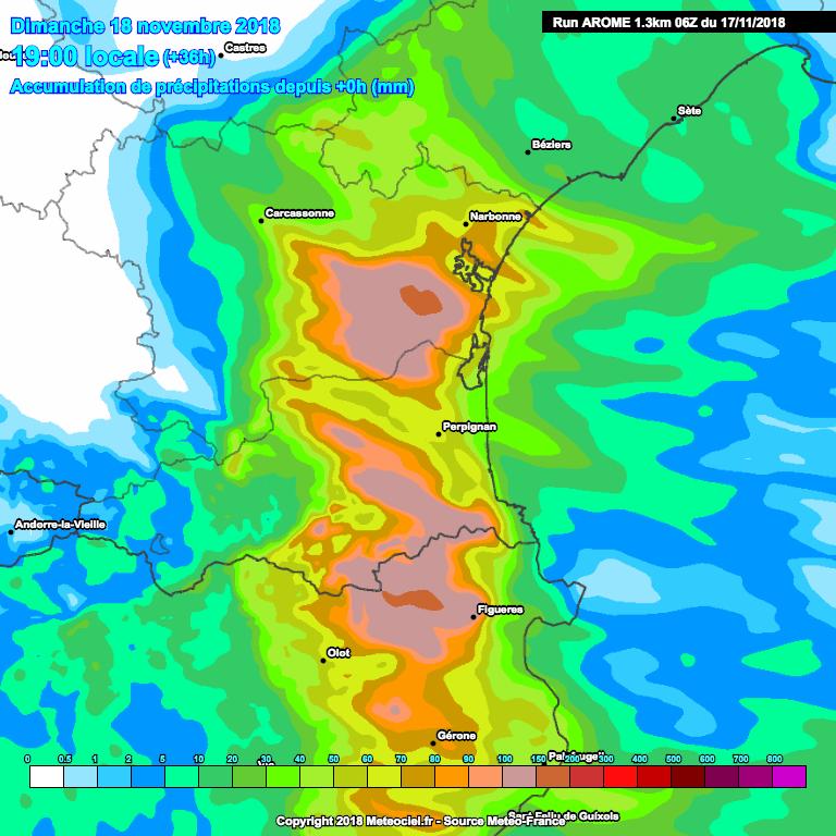Image d'illustration pour Fortes pluies : nouveau risque d'inondation entre Aude et Roussillon