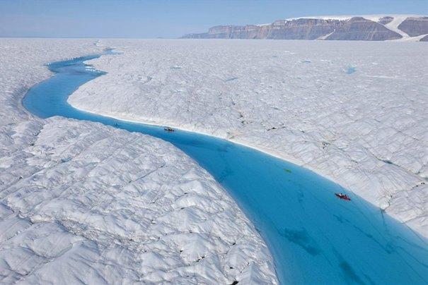 Image d'illustration pour Fonte exceptionnelle des glaces au Groenland ?