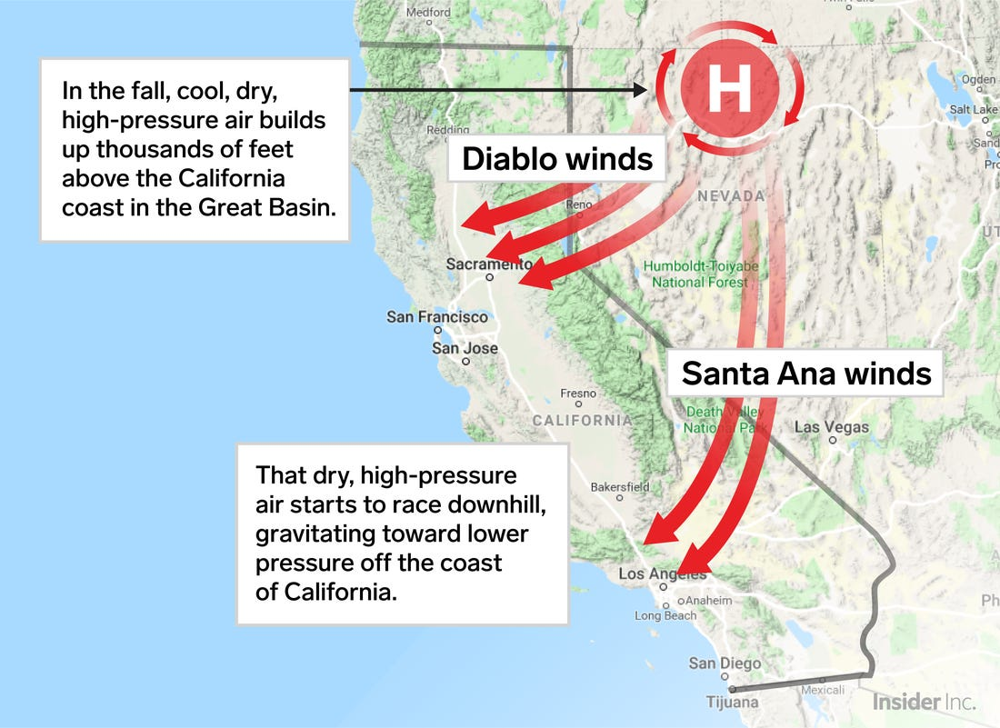 Image d'illustration pour Incendies en Californie : Une situation exceptionnelle