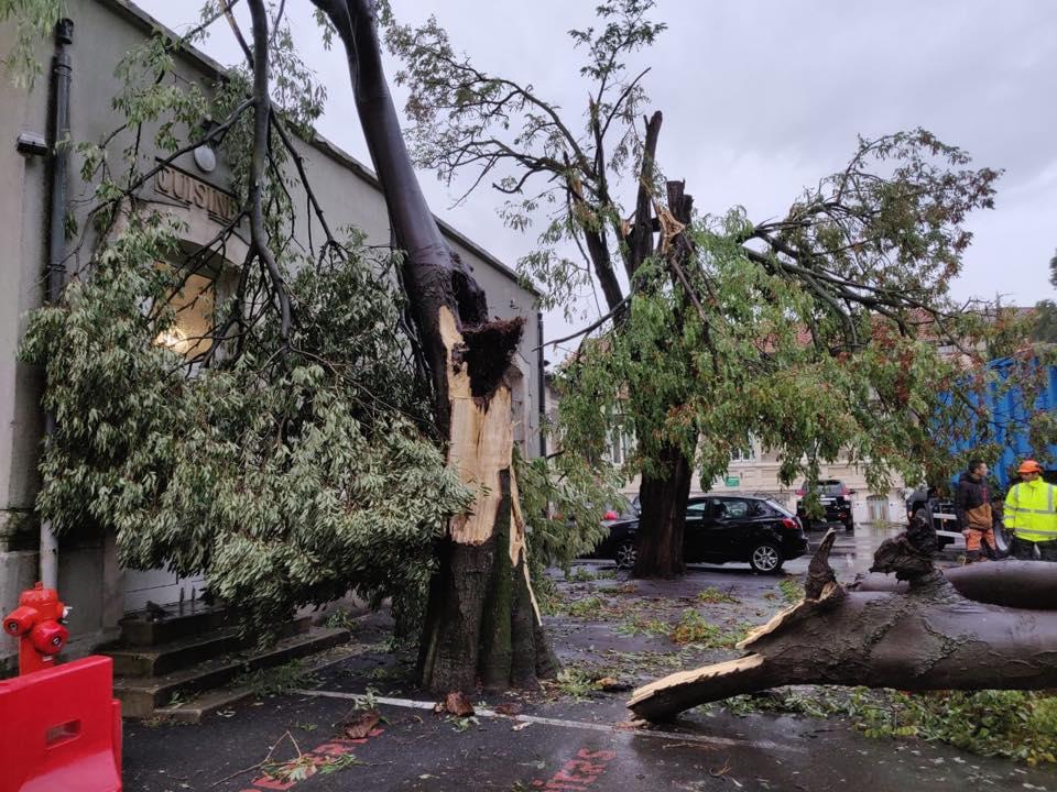 Image d'illustration pour Orages, vents violents, tornade : beaucoup d'agitation les 14 et 15 octobre